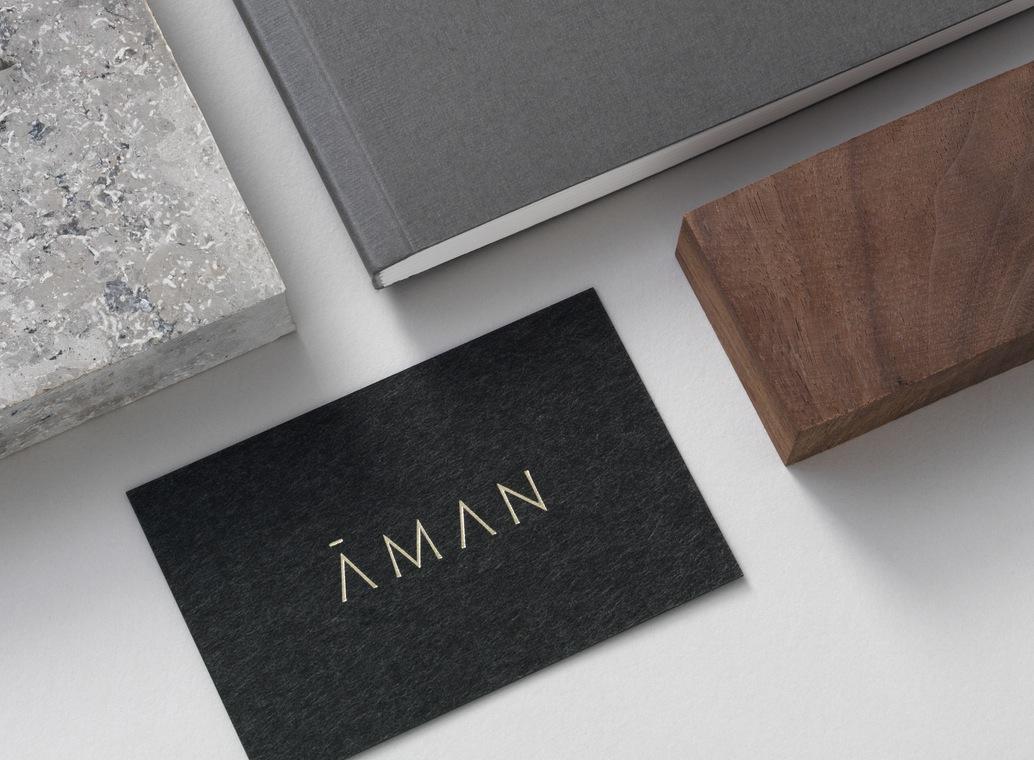 Aman 创意品牌logo设计:卡片设计