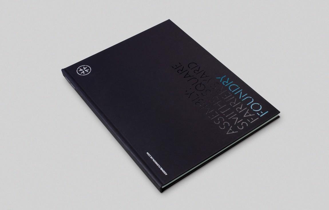 大型开发项目Assembly创意Logo设计:宣传册设计