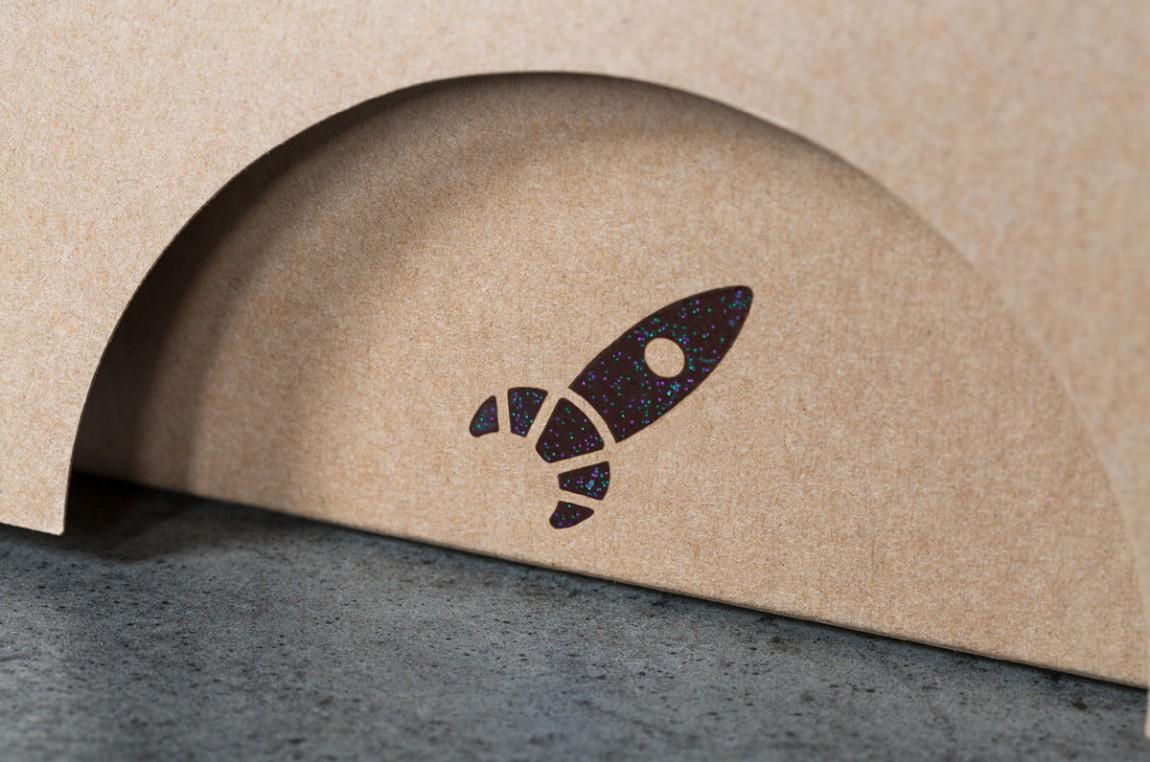 Lune Croissanterie 创意品牌logo设计:包装设计