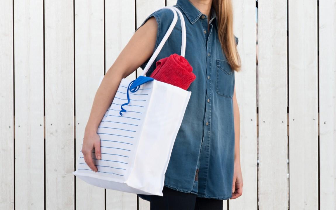Shopping bag for Hernesaaren Ranta by Werklig, Finland