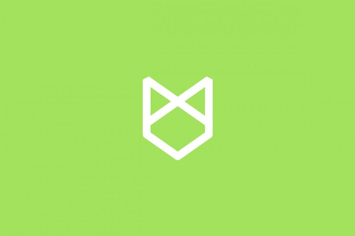 Fox logo by graphic design studio Parent for Romsey estate agent HenshawFox.