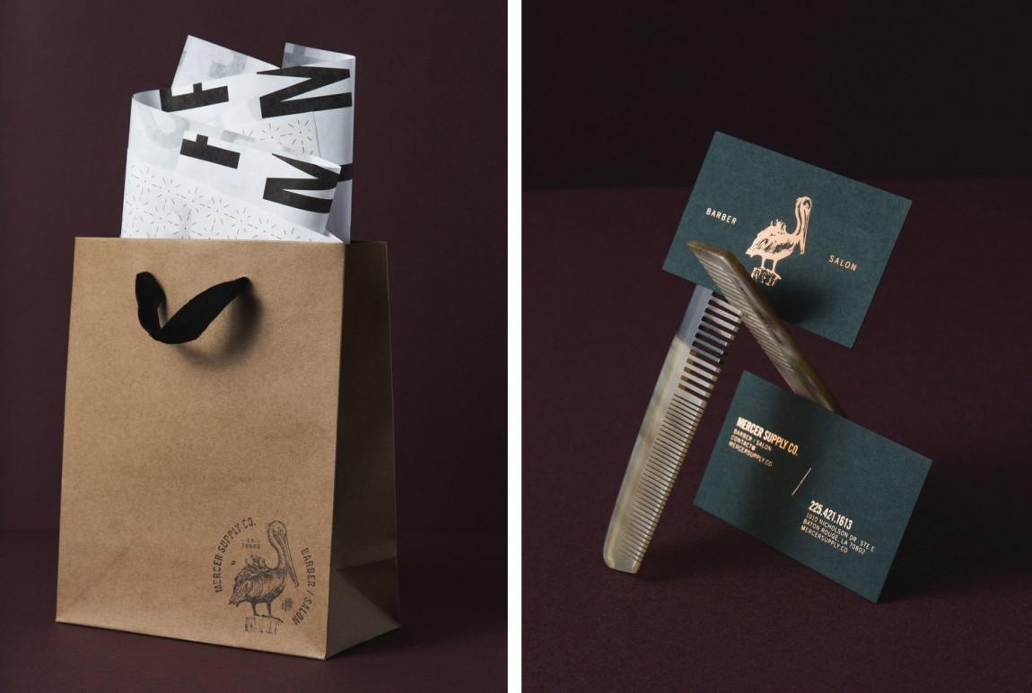 高端美容品牌形象定位设计:手提袋设计、卡片设计