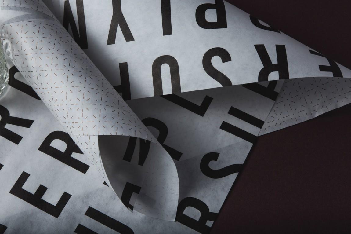 高端美容品牌形象定位设计:包装纸设计
