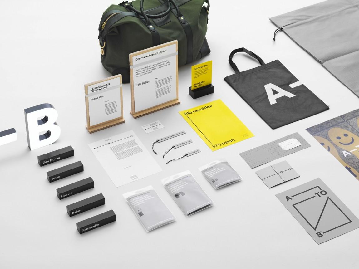 A-TO-B旅行用品专营零售商品牌设计方案,vi品牌设计全案