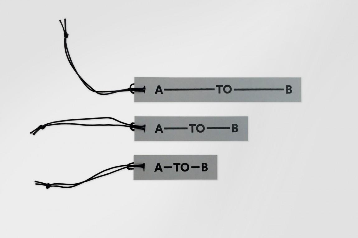 A-TO-B旅行用品专营零售商品牌设计方案,vi品牌设计全案,吊牌设计