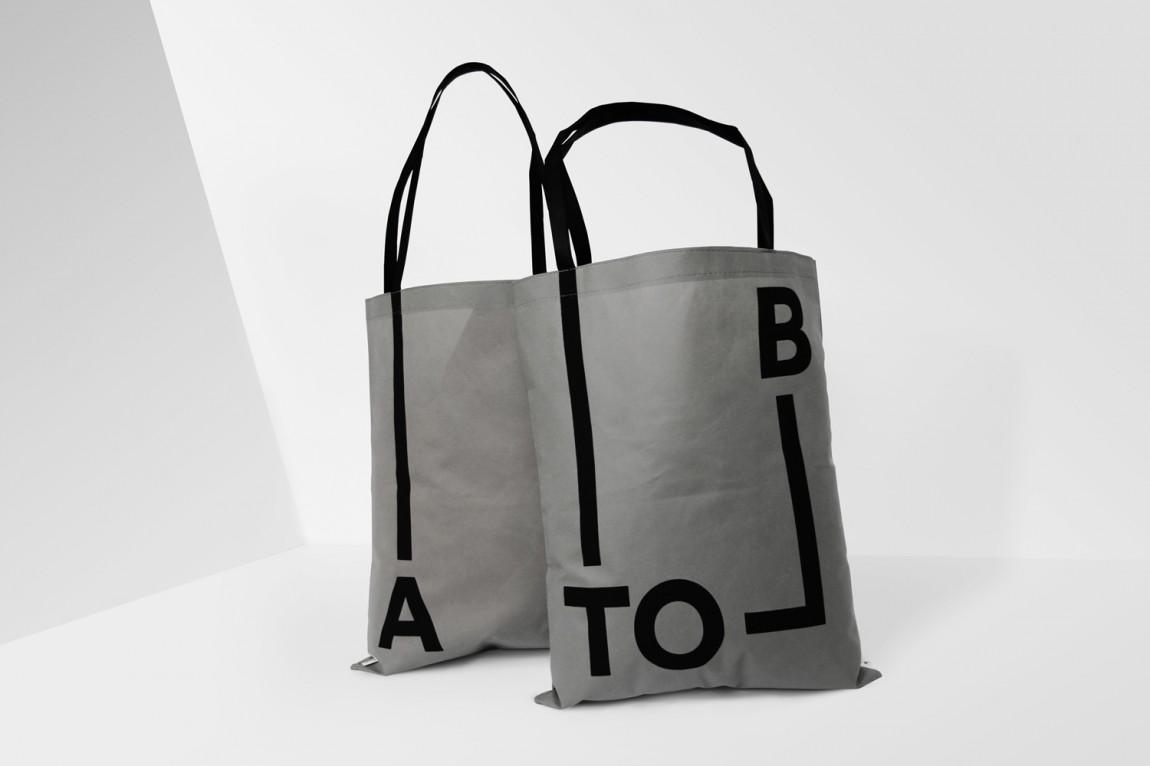 A-TO-B旅行用品专营零售商品牌设计方案,vi品牌设计全案,手提袋设计