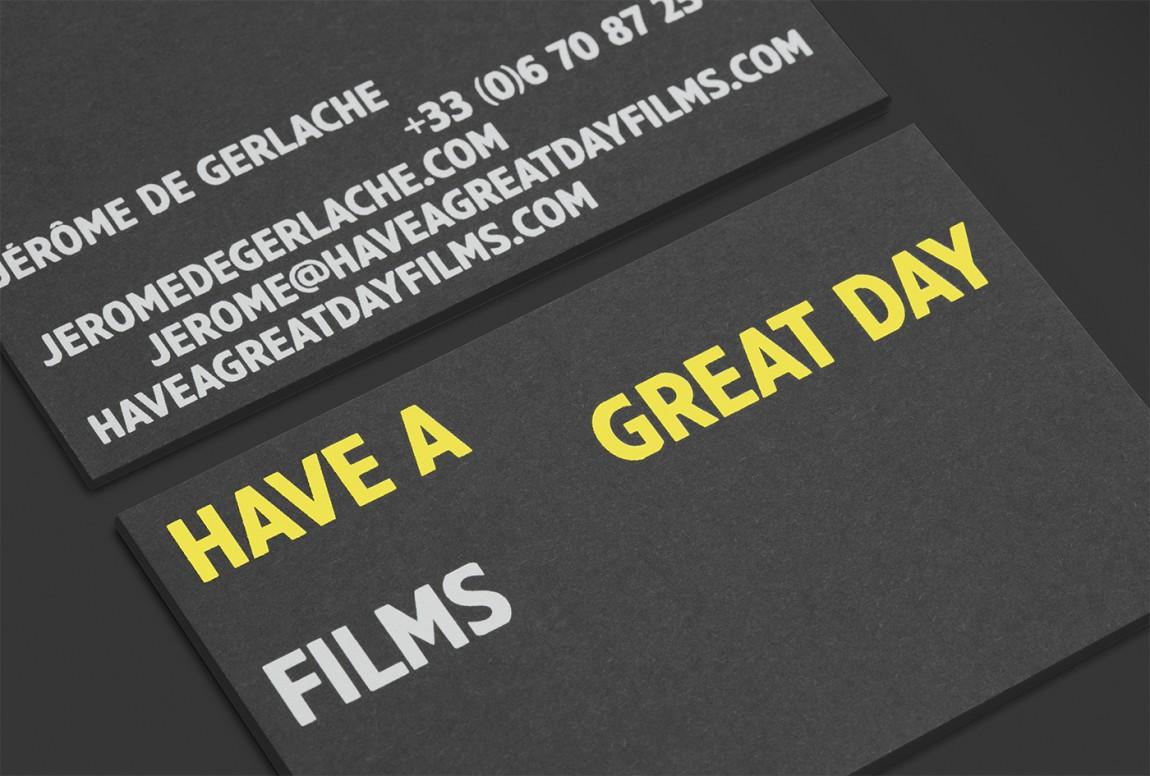 电影公司原创品牌设计,名片设计