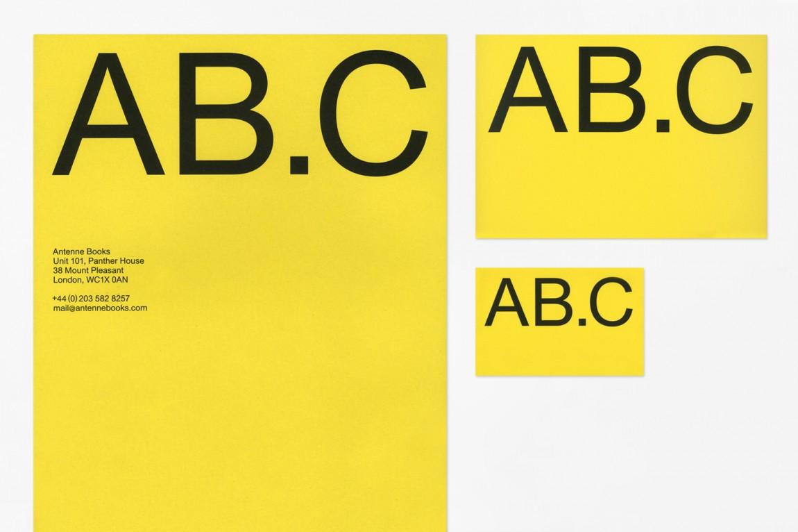 深圳品牌设计:Antenne Books的品牌识别,品牌设计