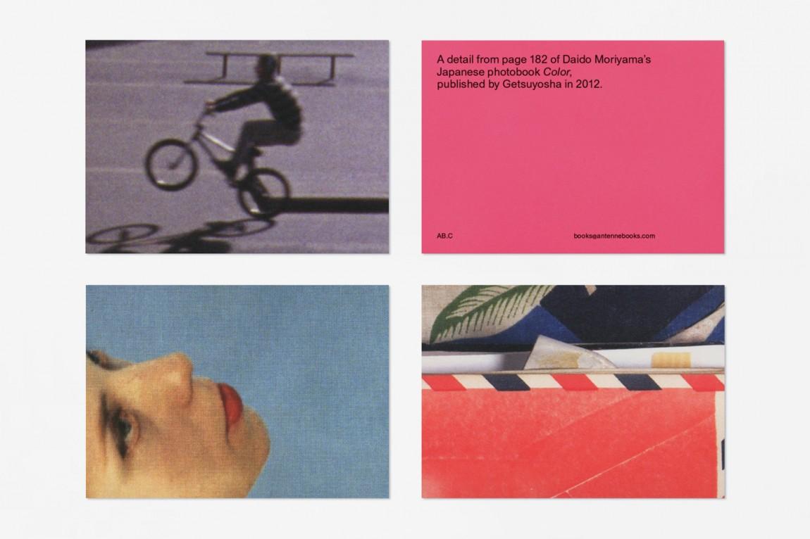 深圳品牌设计:Antenne Books的品牌识别,品牌设计在名信片上的应用
