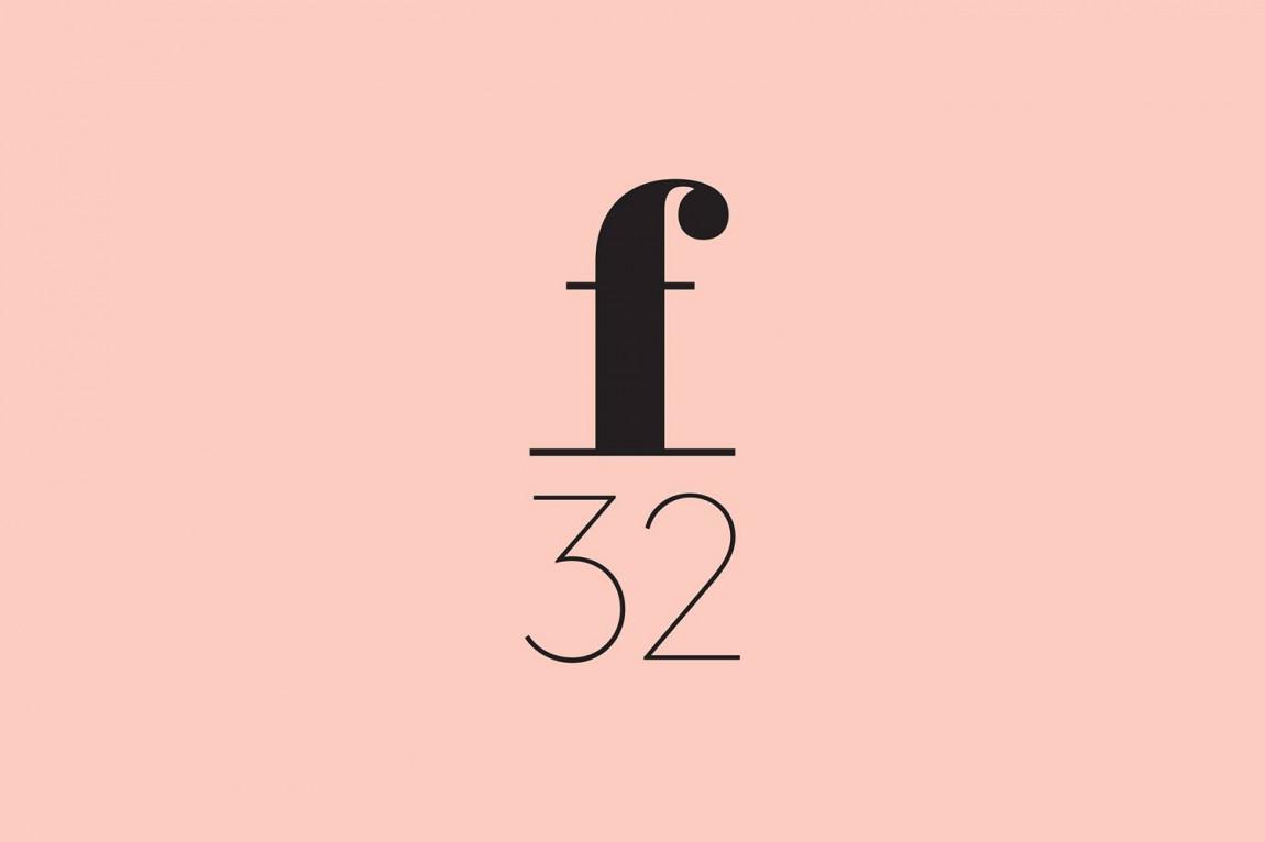 美国潮流观察公司f32 创意品牌设计:logo设计