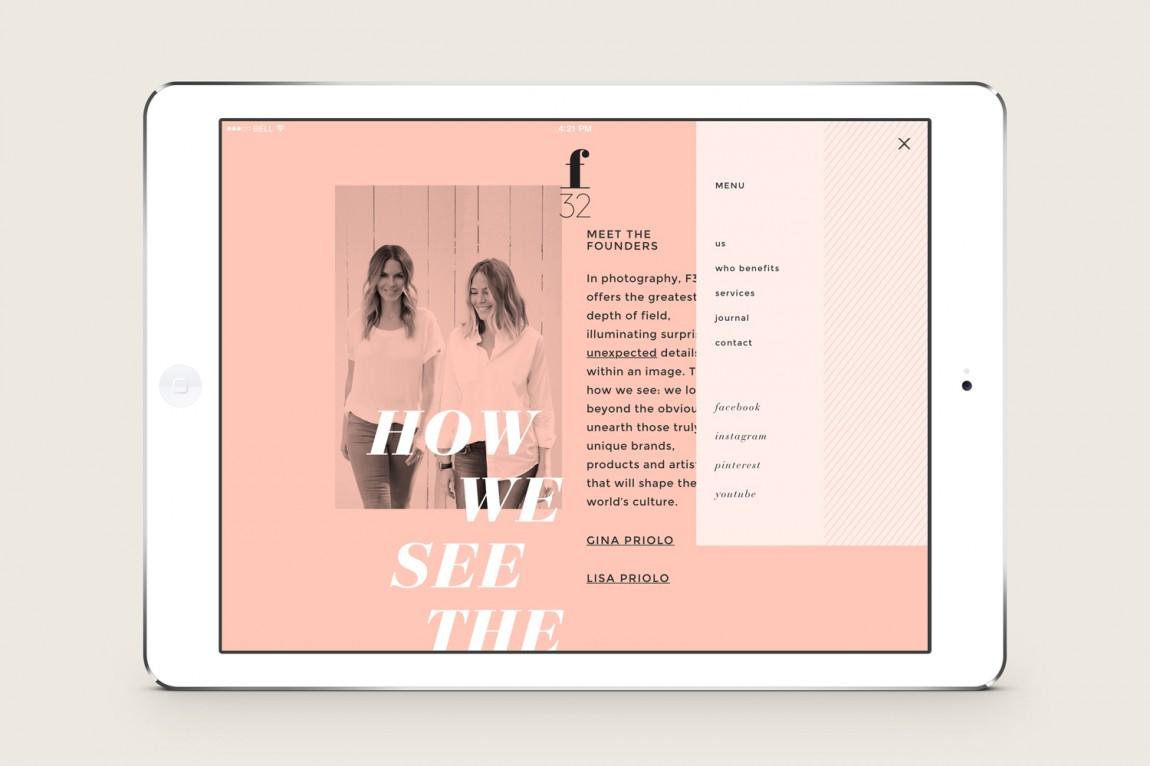 美国潮流观察公司f32 创意品牌设计