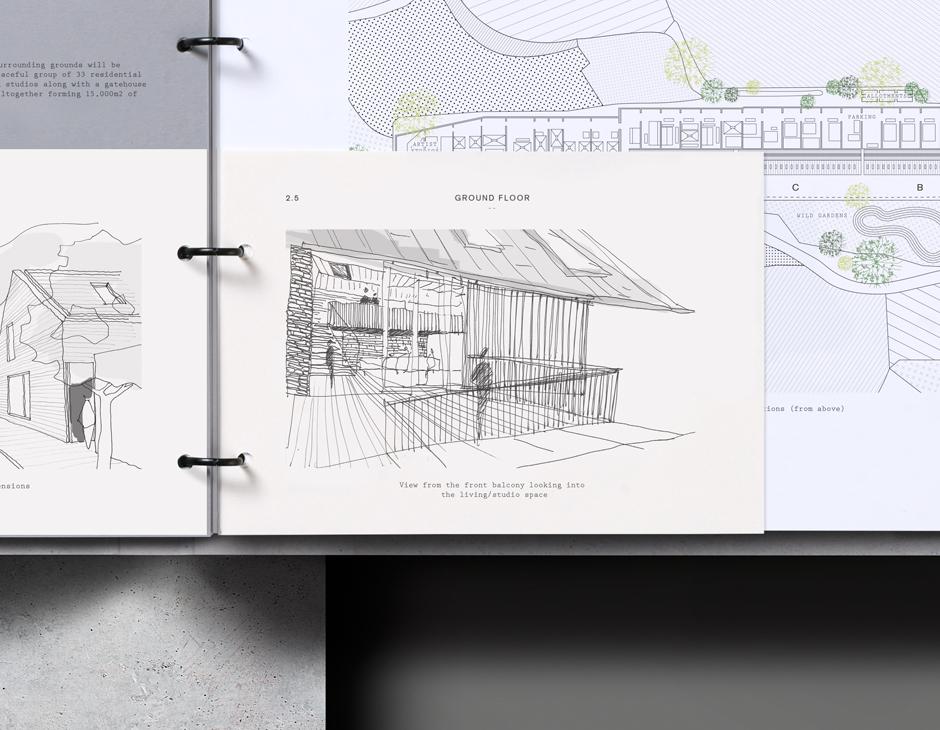 Wenford房地产品牌设计,低调奢华vis设计