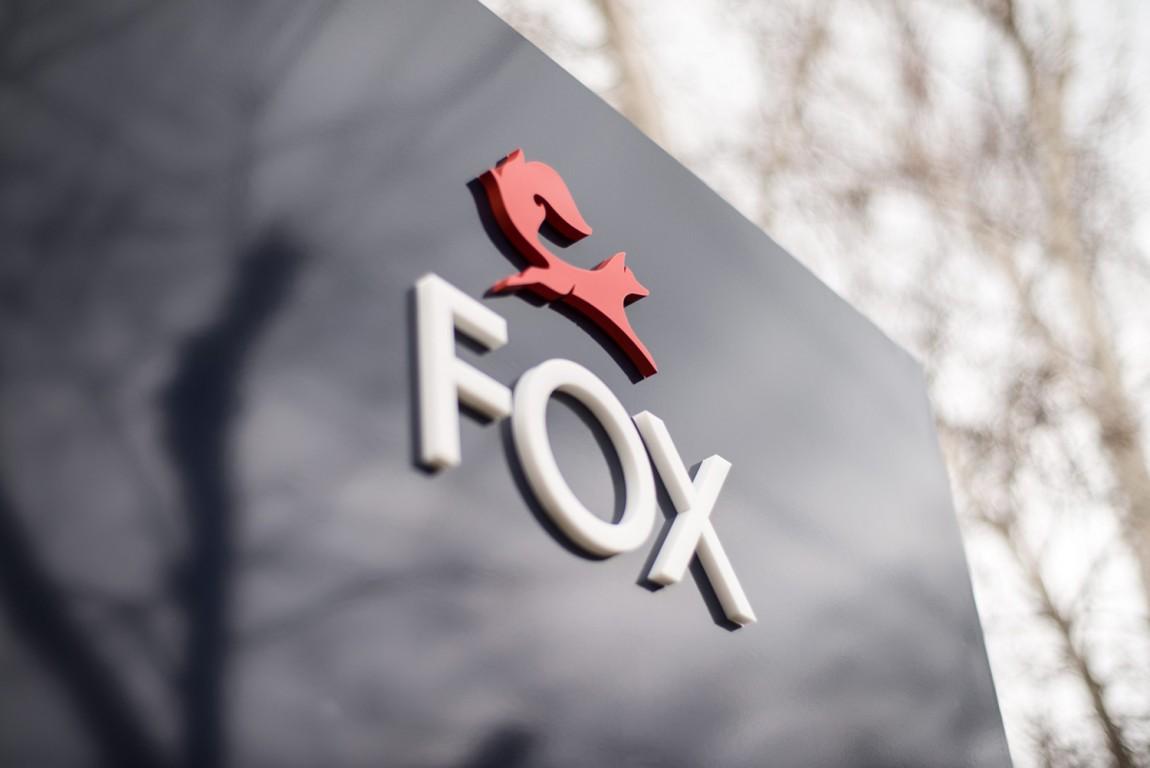 红狐狸精品房地产经纪中介公司品牌设计,导视设计