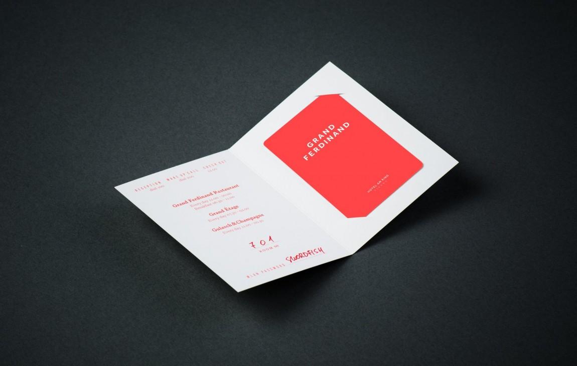 费迪南德酒店vi设计,邀请卡设计