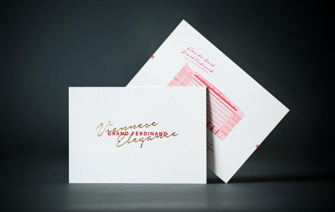 费迪南德酒店vi设计,明信片设计
