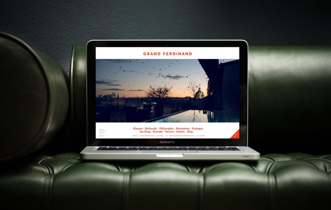费迪南德酒店vi设计,网站设计