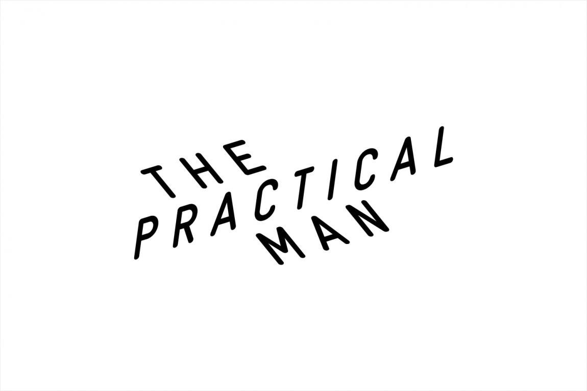 Practical Man创意品牌logo设计:logo设计