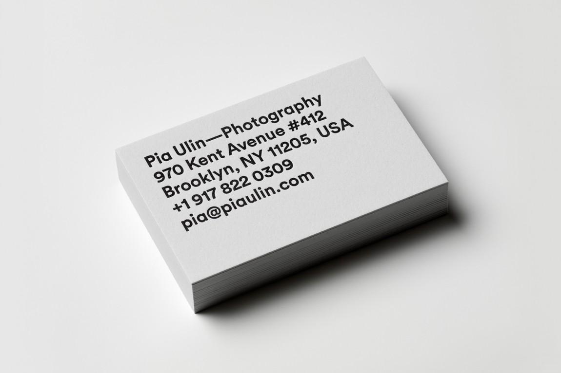 瑞典摄影工作室vi形象设计,名片设计