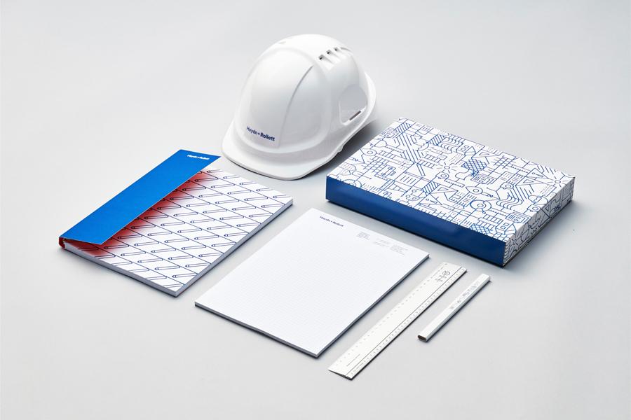 奥克兰建筑公司Haydn企业VI设计,公司商标设计