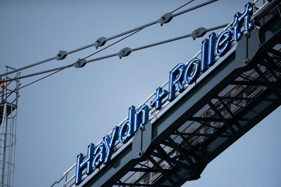 奥克兰建筑公司Haydn企业VI设计,广告牌设计