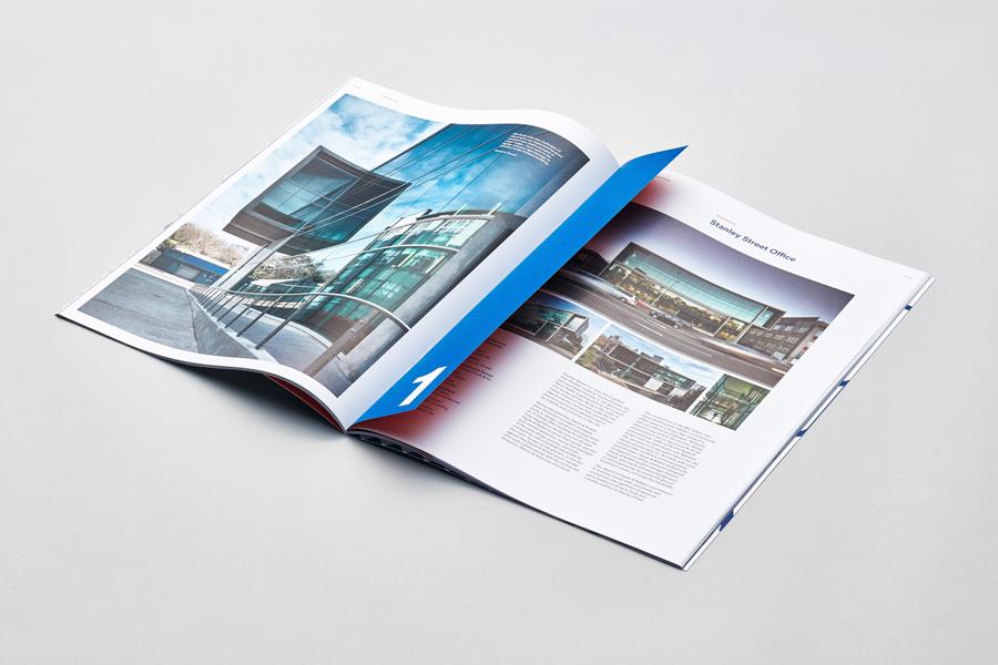 奥克兰建筑公司Haydn企业VI设计,画册设计