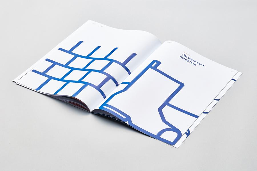 奥克兰建筑公司Haydn企业VI设计,宣传册设计