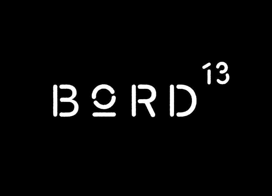 马尔默Bord 13 创意品牌设计:logo设计