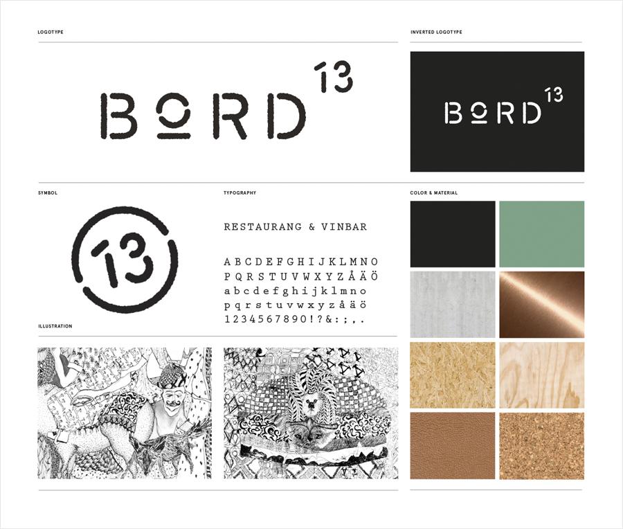 马尔默Bord 13 创意品牌设计