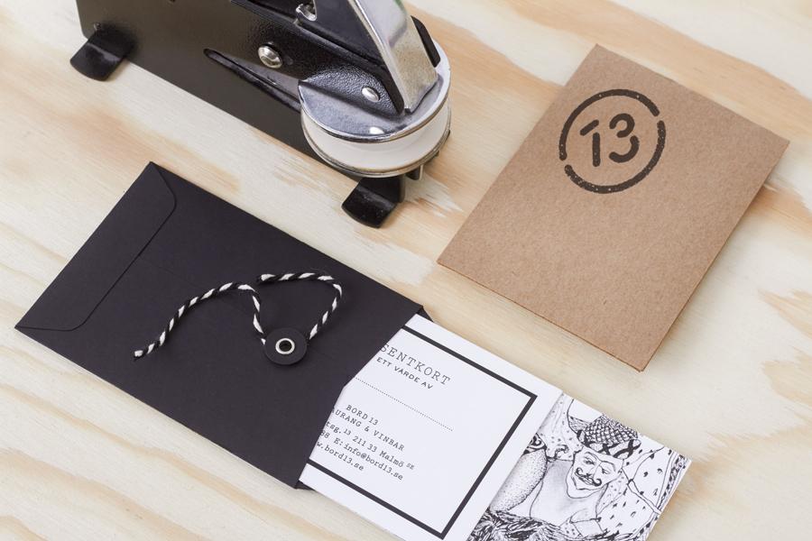 马尔默Bord 13 创意品牌设计:文件袋设计