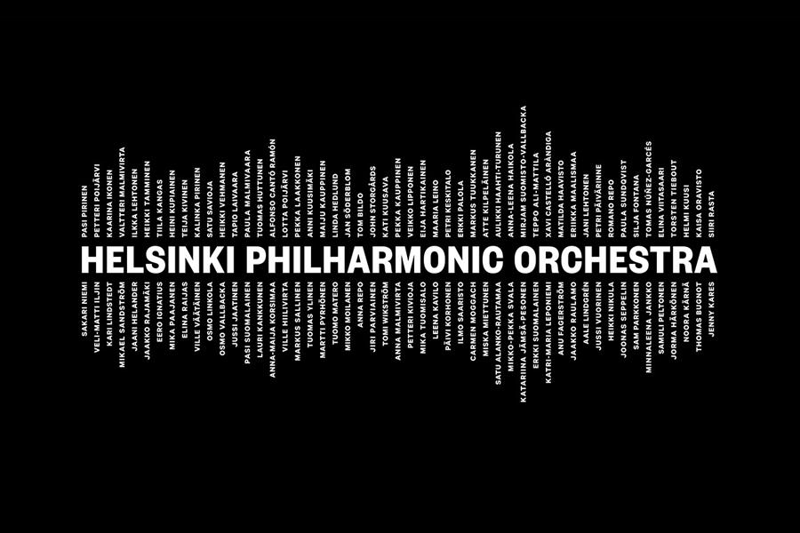赫尔辛基爱乐乐团品牌形象设计:logo设计
