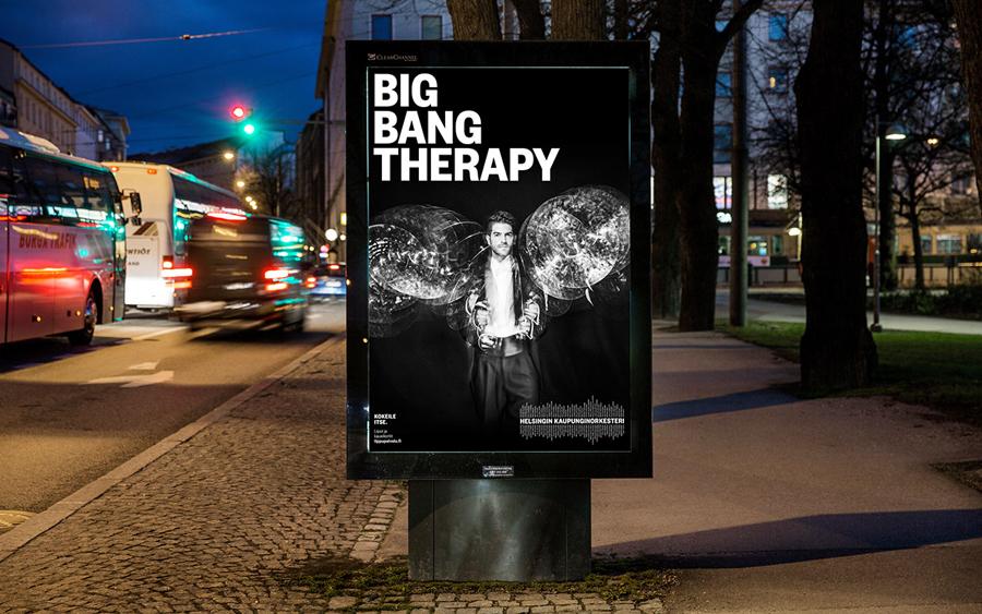赫尔辛基爱乐乐团品牌形象设计:广告设计