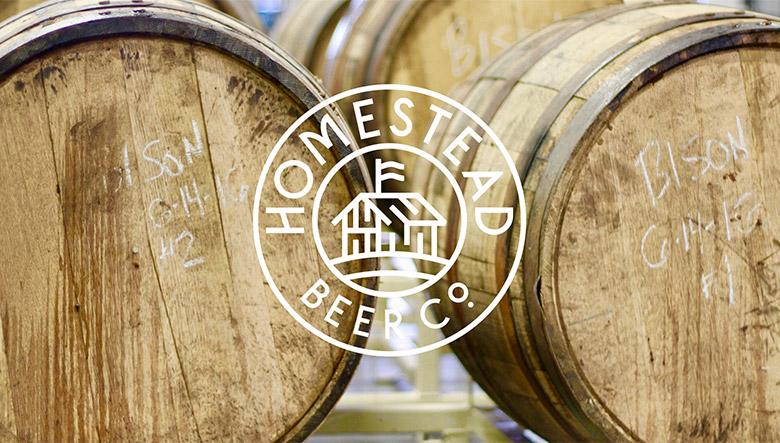 美国Homestead啤酒正式启用新的品牌LOGO设计