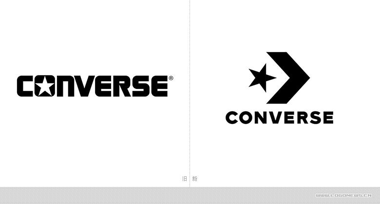 知名运动鞋品牌Converse品牌升级,更换新LOGO