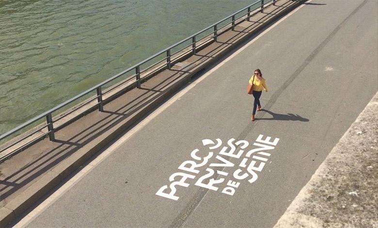 城市形象设计大奖:巴黎塞纳河畔步道视觉形象设计