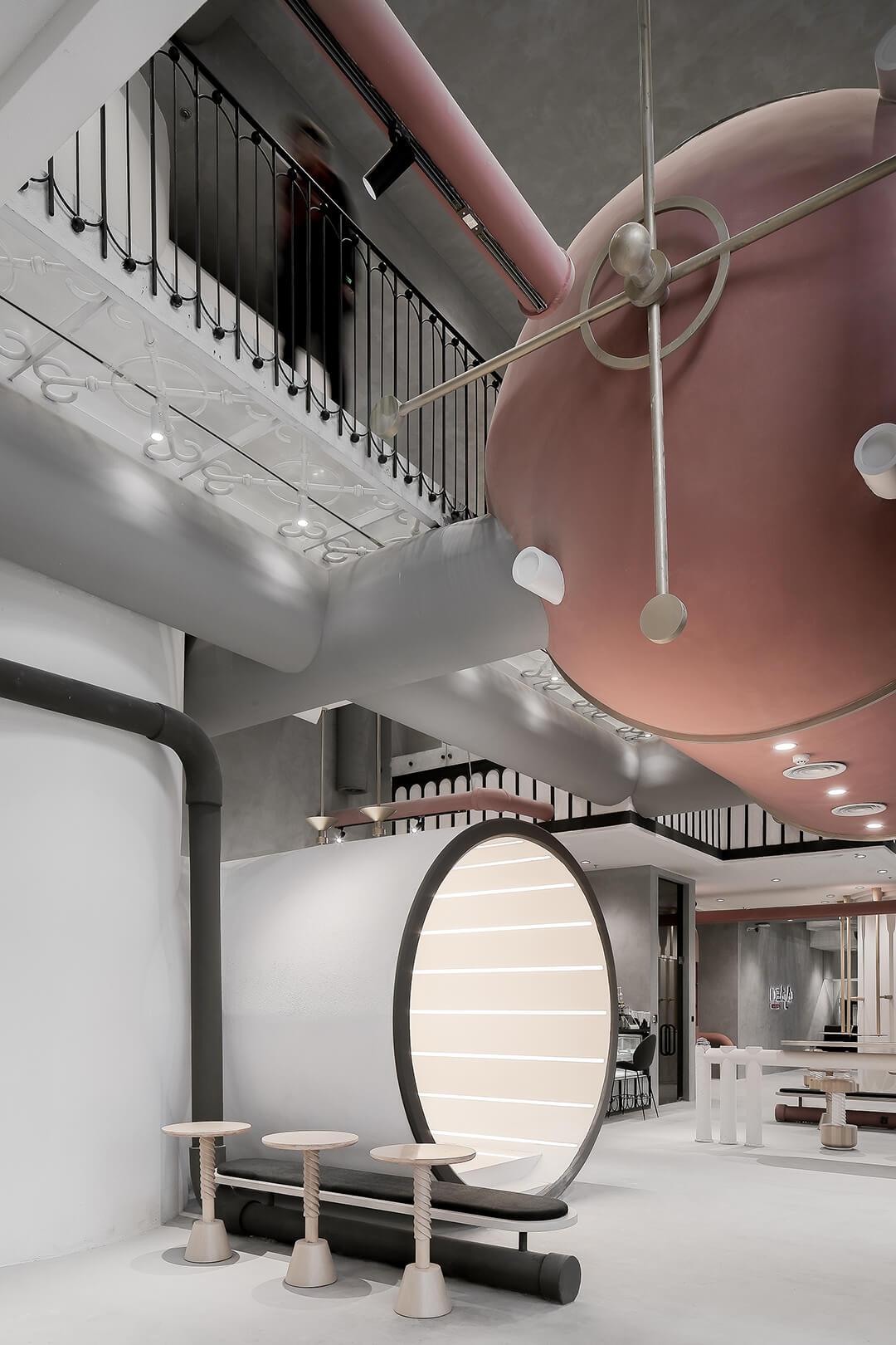 工厂风格办公空间设计