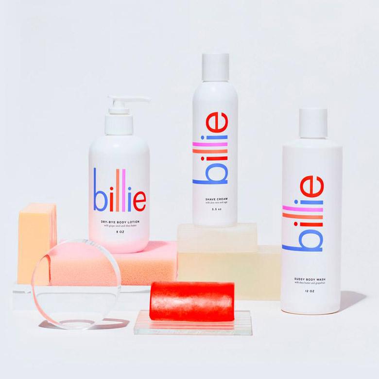 美妆品牌Billie品牌VI形象设计, 包装设计