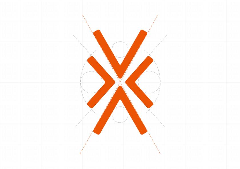 大乘汽车cis企业形象设计, logo标准化制图