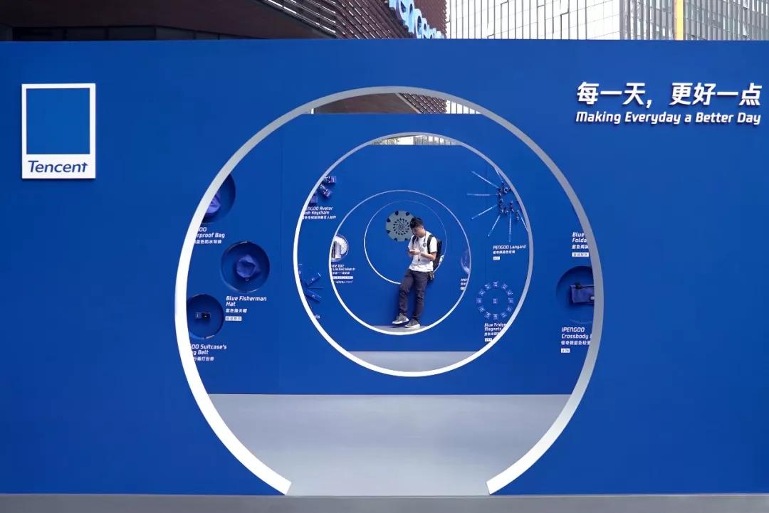 """胖企鹅vi视觉设计变成了""""蓝精灵"""",vi视觉设计"""