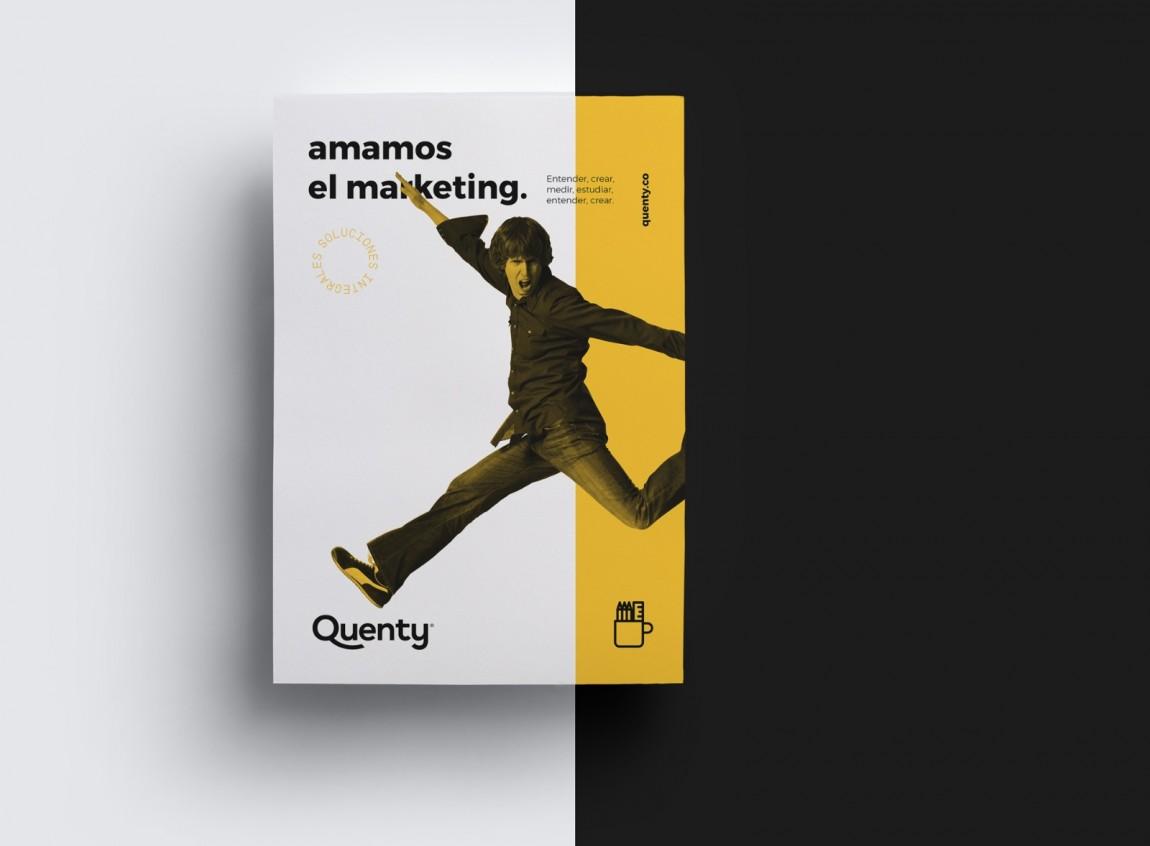 Quenty品牌vi形象设计案例欣赏,vi设计,深圳vi设计