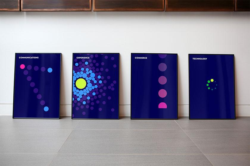 WPP广告公司创意LOGO设计
