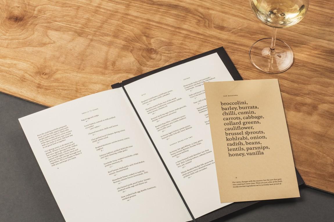 Common Lot餐饮品牌vi设计, 菜单设计