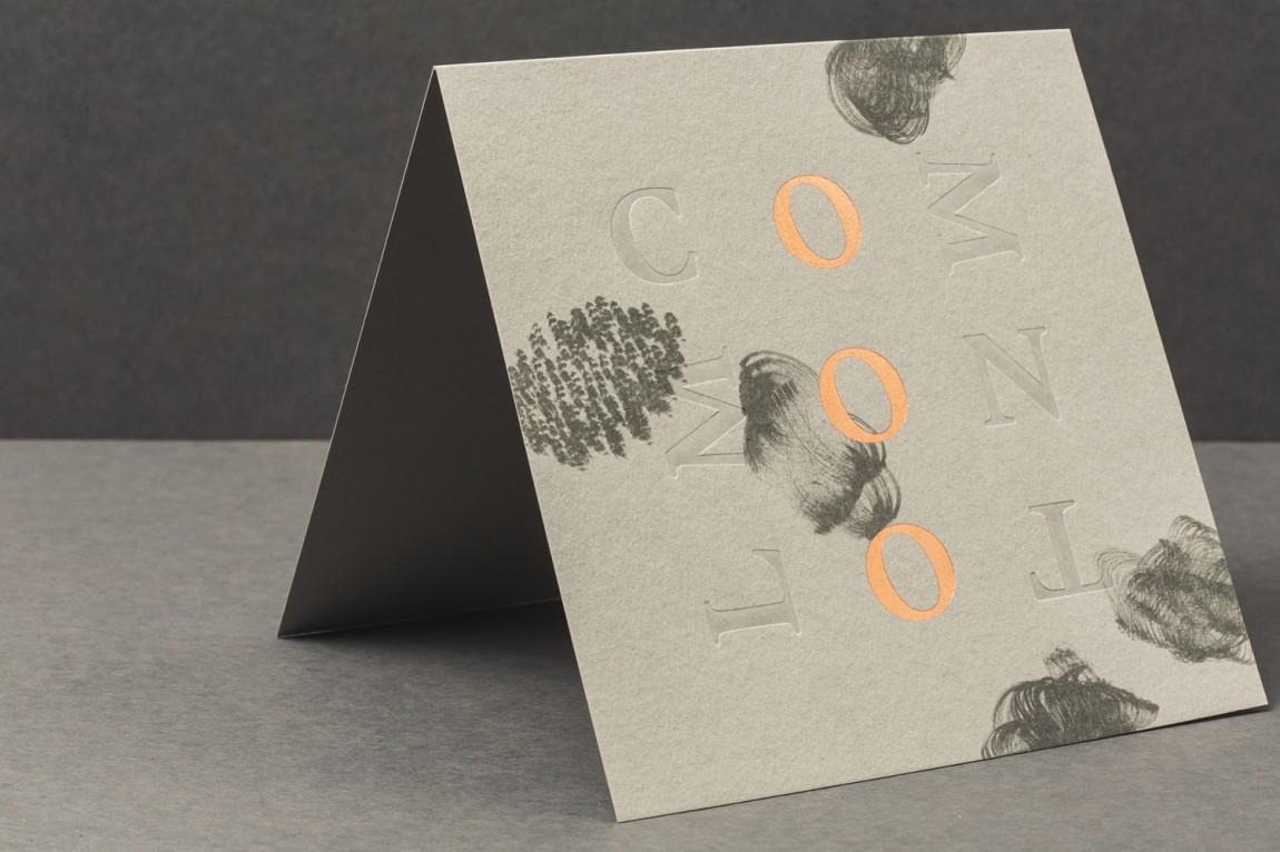 Common Lot餐饮品牌vi设计,台卡设计