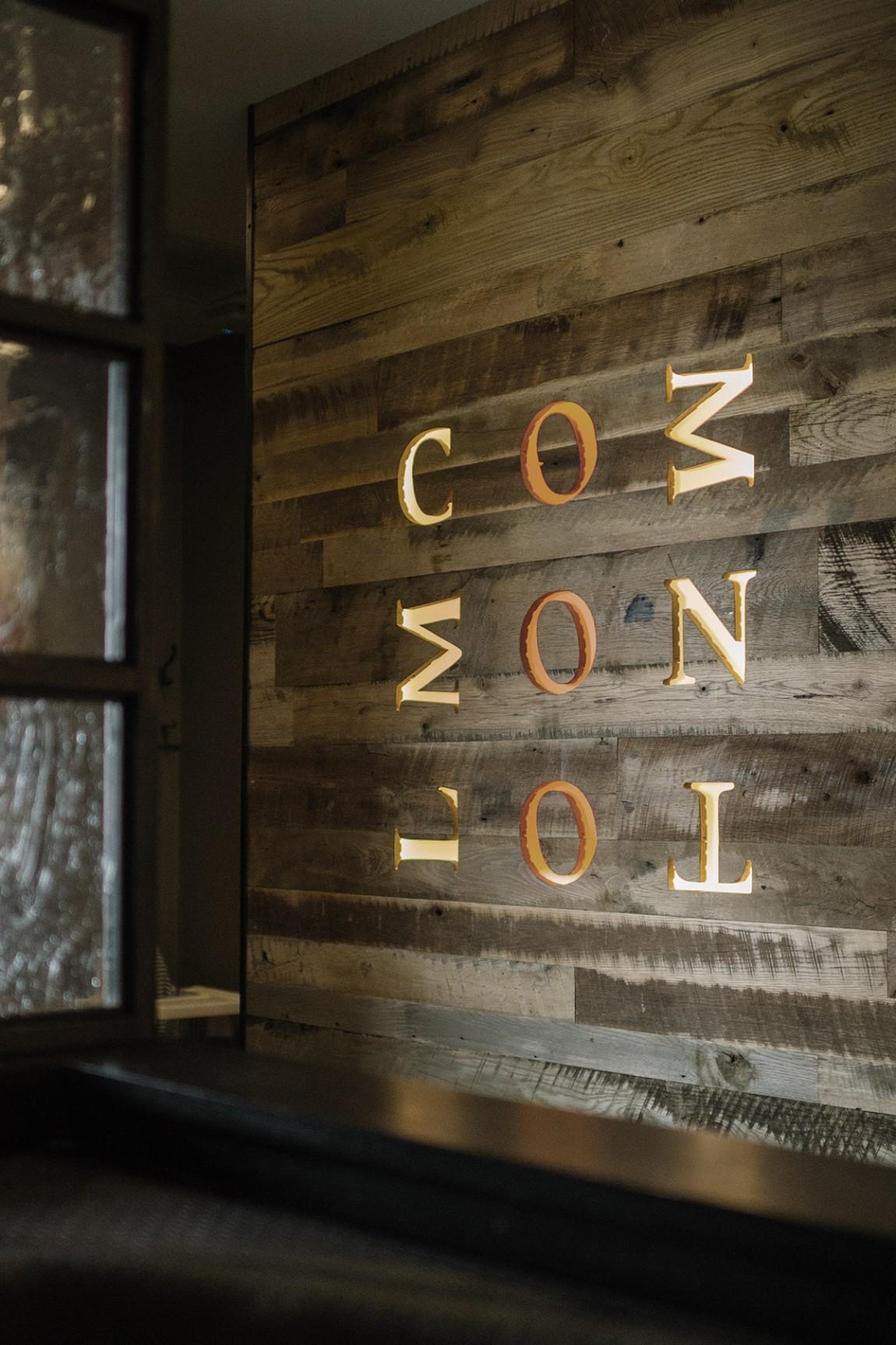 Common Lot餐饮品牌vi设计, 背景墙设计