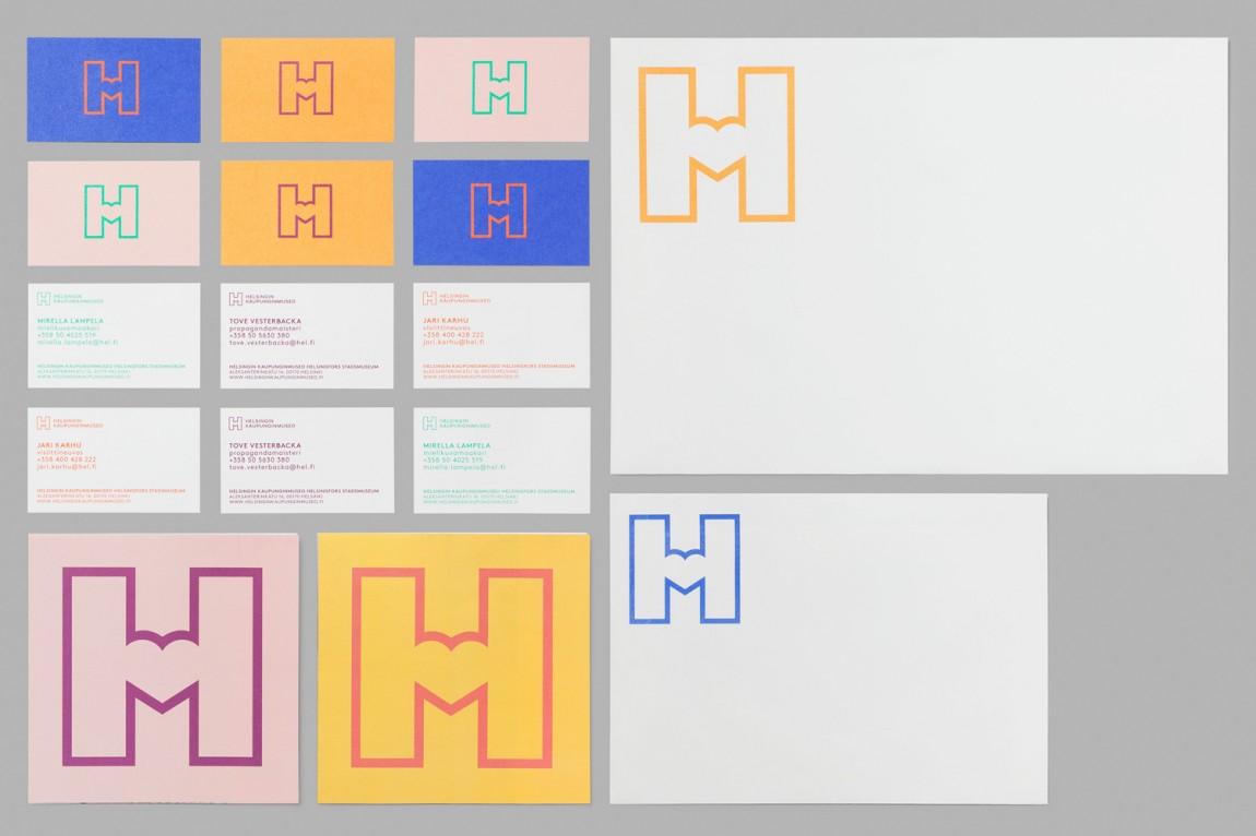 城市博物馆视觉识别系统VIS设计,logo应用规范
