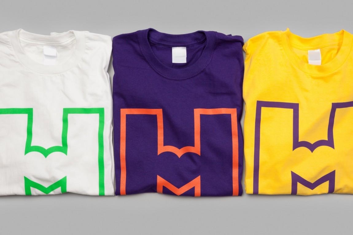 城市博物馆视觉识别系统VIS设计,T恤衫设计