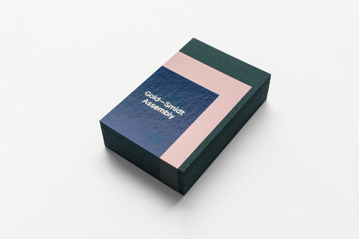 GoldSmidt艺术画廊品牌形象设计,名片设计