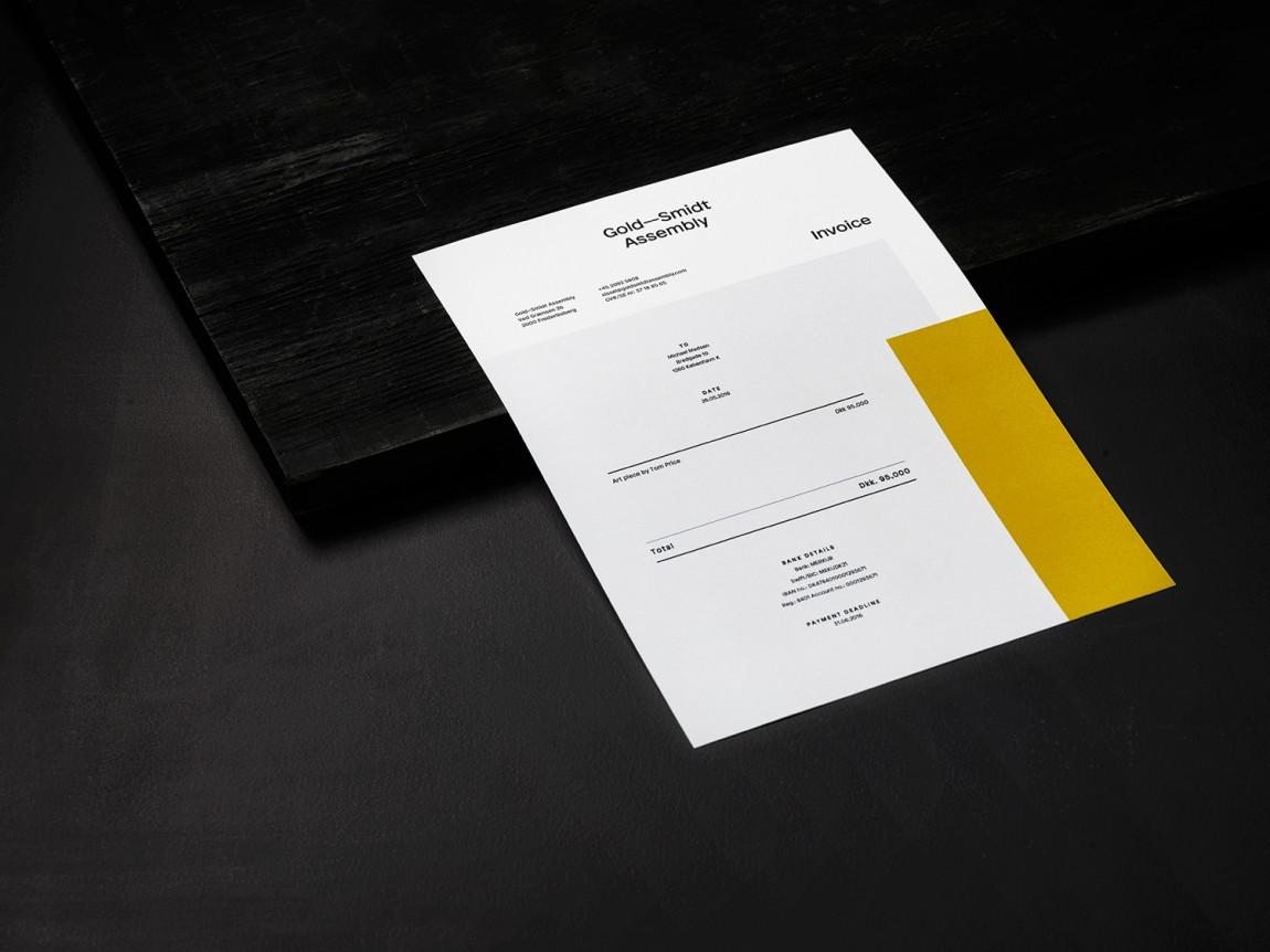 GoldSmidt艺术画廊品牌形象设计,办公应用设计