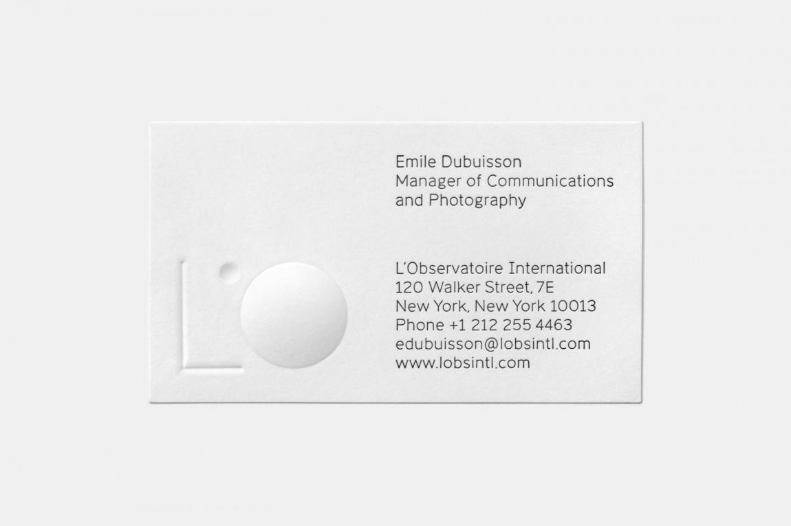 美国LOI照明设计公司VI企业形象设计, 名片设计
