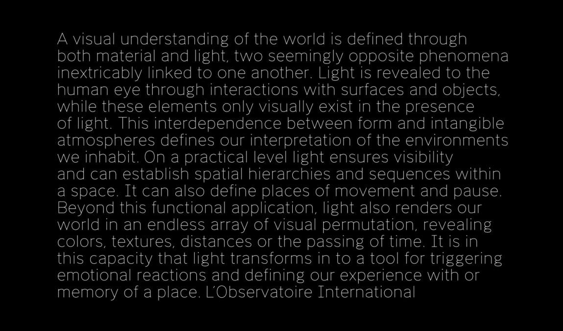 美国LOI照明设计公司VI企业形象设计,字体设计