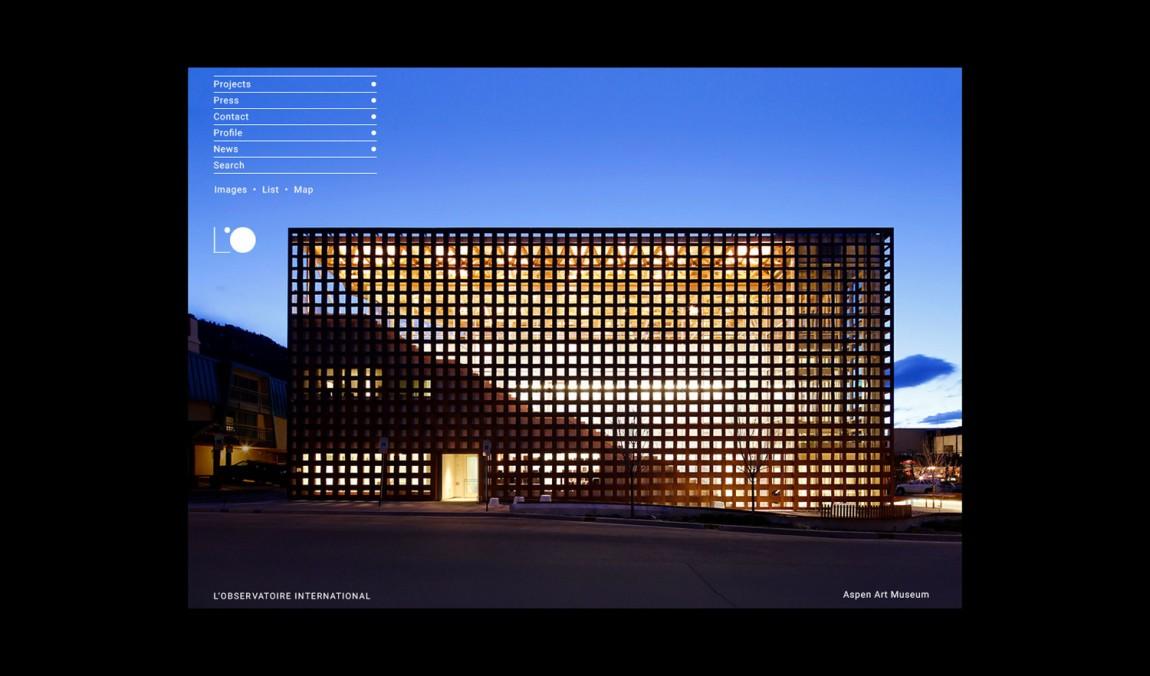 美国LOI照明设计公司VI企业形象设计, 官网设计